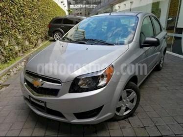 Chevrolet Aveo LT Aut usado (2017) color Plata precio $135,000