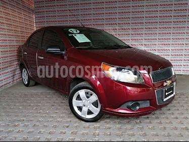 Chevrolet Aveo LT usado (2017) color Rojo Tinto precio $143,000
