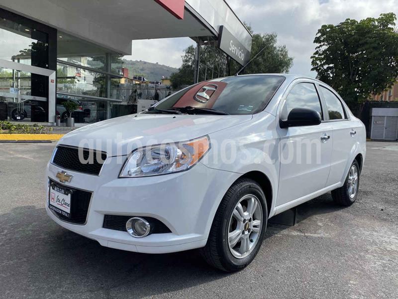 Chevrolet Aveo LTZ (Nuevo) usado (2016) color Blanco precio $130,000