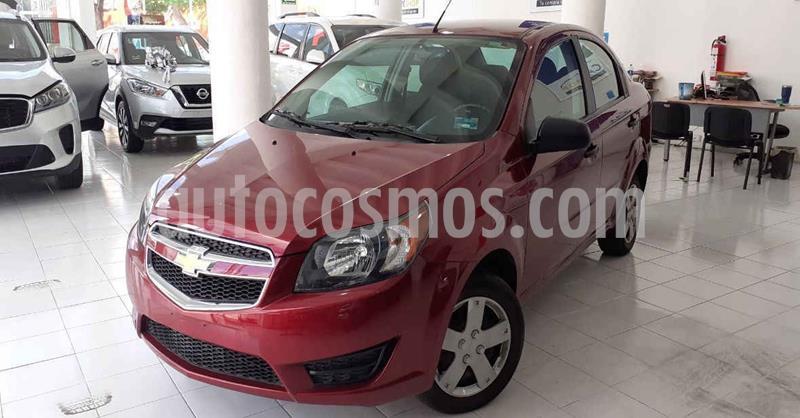 Chevrolet Aveo LS Aa usado (2018) color Rojo precio $133,900