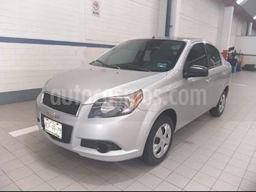Chevrolet Aveo LS usado (2015) color Plata precio $97,000