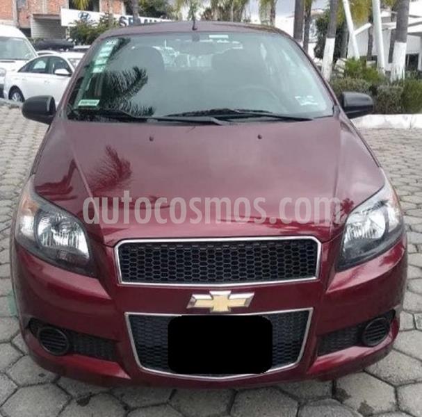 Chevrolet Aveo LT usado (2017) color Rojo Tinto precio $129,999