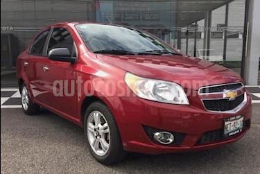 Chevrolet Aveo LTZ Aut usado (2018) color Rojo precio $160,000