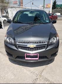 Chevrolet Aveo LS usado (2018) color Gris precio $137,900
