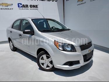 Chevrolet Aveo LS Aut usado (2016) color Plata precio $110,000