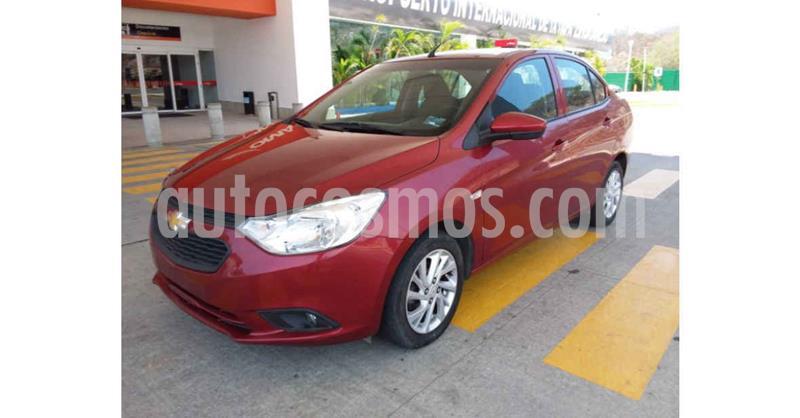 foto Chevrolet Aveo LT Aut usado (2019) color Rojo precio $154,900