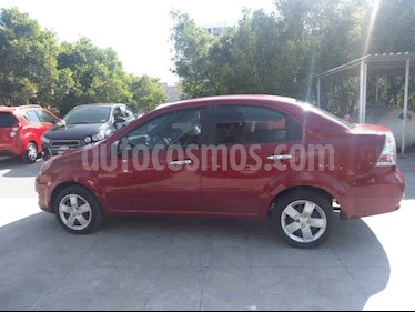 Chevrolet Aveo 4p LT L4/1.6 Aut usado (2018) color Rojo precio $145,000