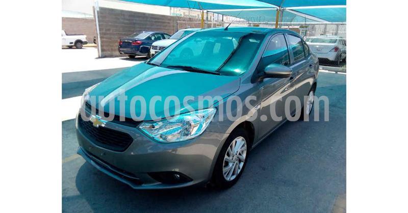Chevrolet Aveo Paq D usado (2020) color Gris precio $176,800