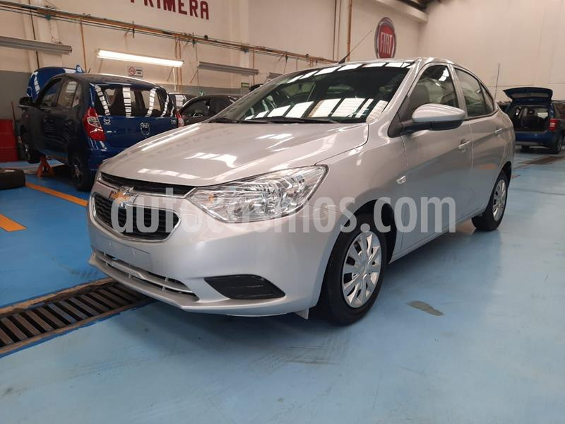 Foto Chevrolet Aveo LS Aut usado (2018) color Plata Dorado precio $170,000