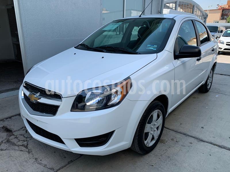 Chevrolet Aveo LS Aa usado (2018) color Blanco precio $141,500