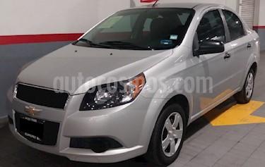 Chevrolet Aveo LT usado (2014) color Plata precio $108,000