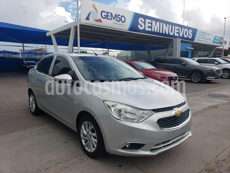 Chevrolet Aveo LTZ Aut usado (2018) color Plata precio $165,000