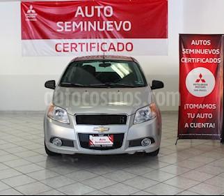 Chevrolet Aveo Paq E usado (2017) color Plata precio $145,000