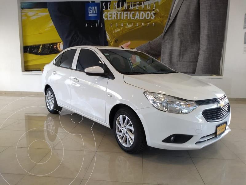 Foto Chevrolet Aveo LT usado (2020) color Blanco precio $199,500