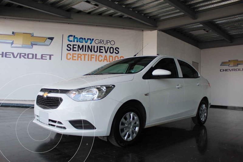 Chevrolet Aveo LS usado (2019) color Blanco precio $175,000