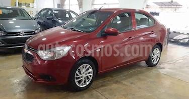 Chevrolet Aveo LT D AT usado (2020) color Rojo precio $179,900