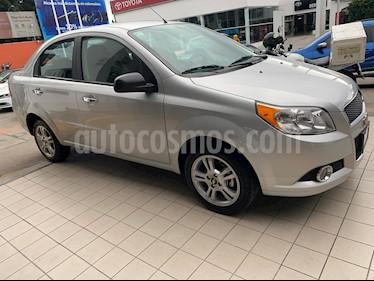 Chevrolet Aveo LTZ Bolsas de Aire y ABS Aut (Nuevo) usado (2017) color Plata precio $154,900