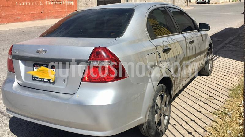 Chevrolet Aveo LT Aut usado (2015) color Plata Brillante precio $109,000