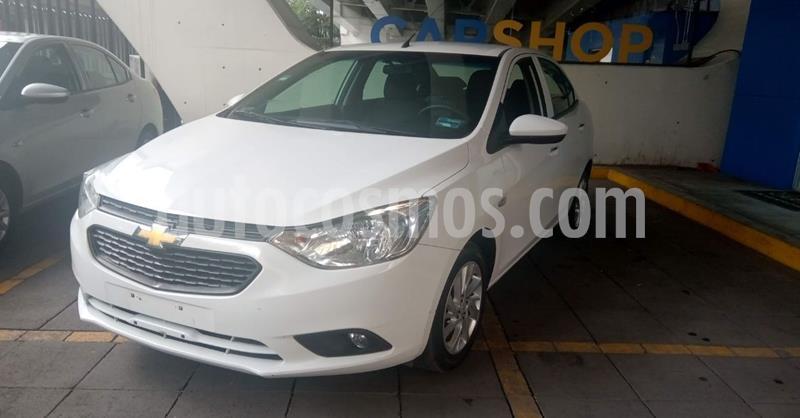 Chevrolet Aveo LT Aut usado (2020) color Blanco precio $184,900