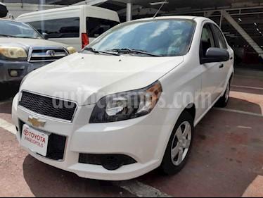 Chevrolet Aveo 4p LS L4/1.6 Man usado (2017) color Blanco precio $129,000