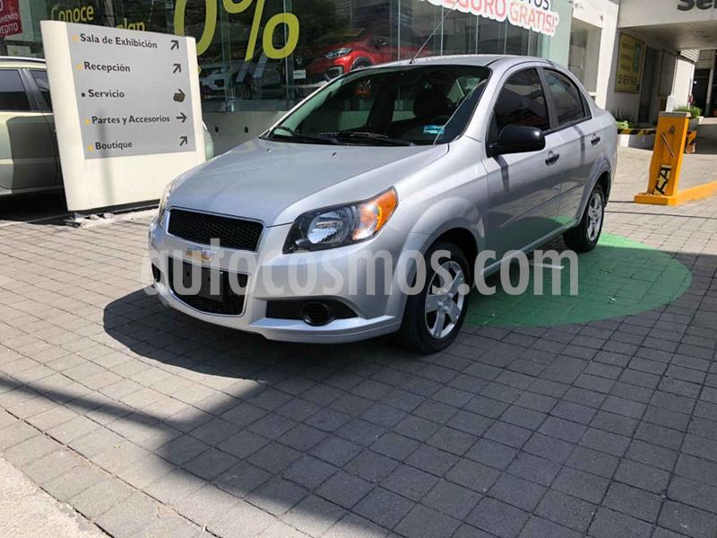 Chevrolet Aveo LS usado (2017) color Plata precio $129,000