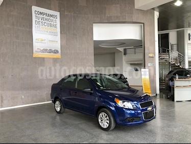 Chevrolet Aveo LS usado (2017) color Azul precio $135,000