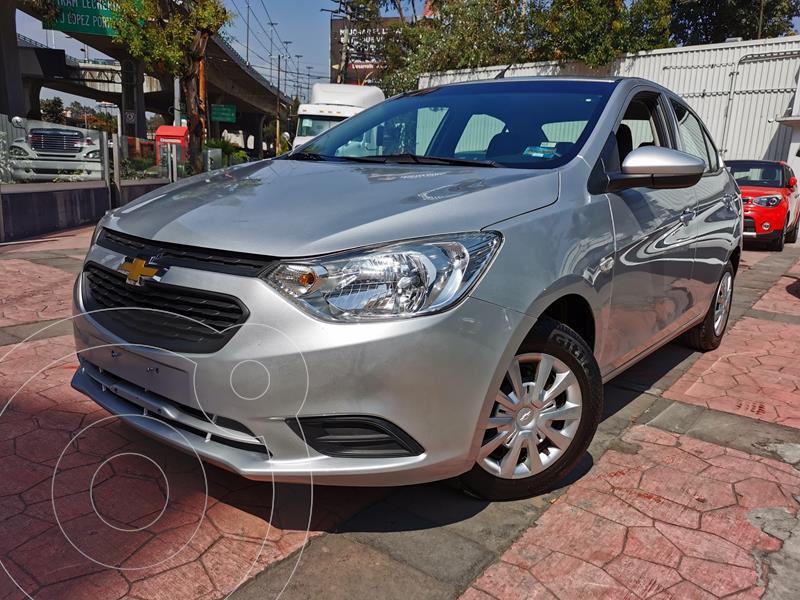 Chevrolet Aveo LS usado (2018) color Plata Brillante precio $163,000