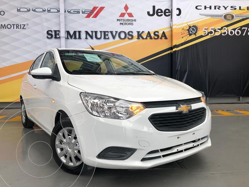 Foto Chevrolet Aveo LS usado (2019) color Blanco precio $165,000