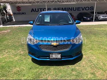 Chevrolet Aveo 4p LT L4/1.6 Man usado (2018) color Azul precio $180,010