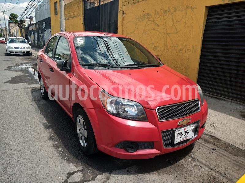 Chevrolet Aveo LS usado (2014) color Rojo precio $79,900