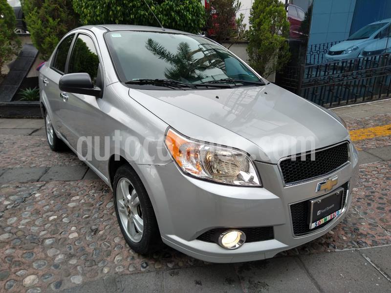 Chevrolet Aveo LTZ usado (2015) color Plata precio $125,000