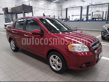 Chevrolet Aveo Paq E usado (2011) color Rojo precio $95,000