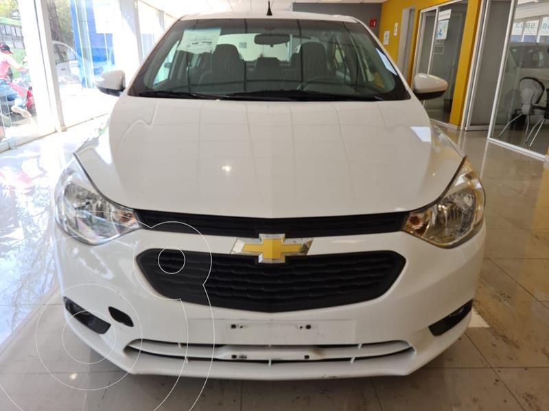 Foto Chevrolet Aveo LT Aut usado (2020) color Blanco precio $218,900