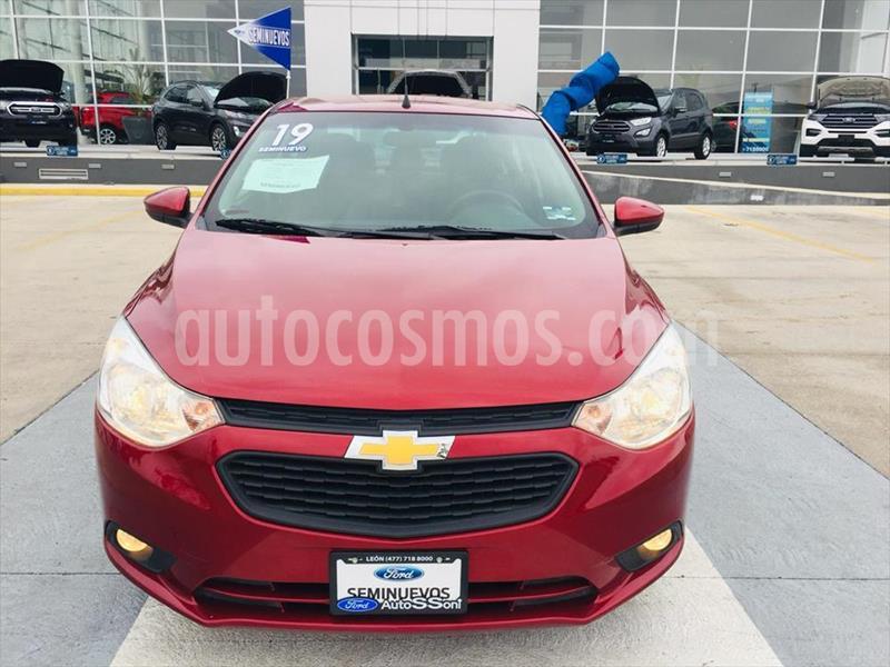 Chevrolet Aveo LT Aut usado (2019) color Rojo precio $185,000