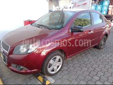 foto Chevrolet Aveo LT usado (2014) color Rojo Tinto precio $118,000