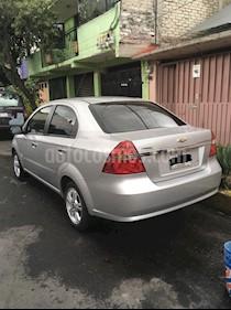 Chevrolet Aveo Paq D usado (2013) color Plata precio $100,000