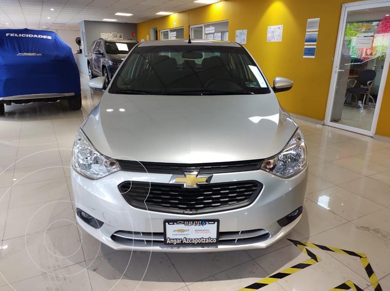 Foto Chevrolet Aveo LT Aut usado (2020) color Plata Dorado precio $218,900