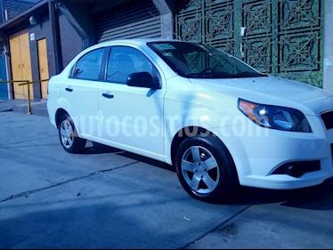 Chevrolet Aveo LT usado (2017) color Blanco precio $129,000