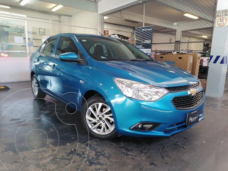 Chevrolet Aveo LT Aut usado (2018) color Azul precio $165,000