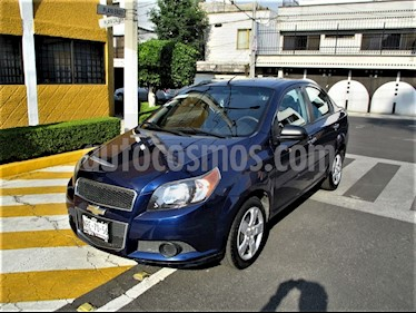 Chevrolet Aveo Paq B usado (2014) color Azul Metalico precio $89,900