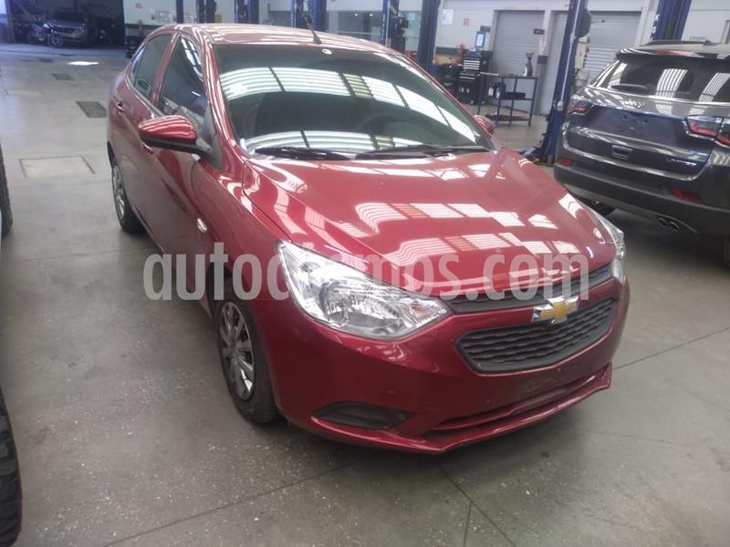 Chevrolet Aveo LS Aa usado (2018) color Rojo precio $142,000