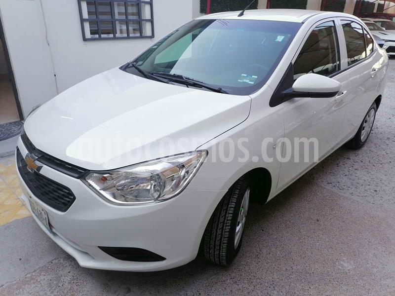 Foto Chevrolet Aveo LS Aut usado (2018) color Blanco precio $165,000