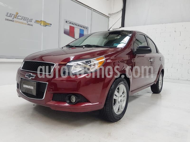 Chevrolet Aveo LT (Nuevo) usado (2016) color Rojo precio $135,000