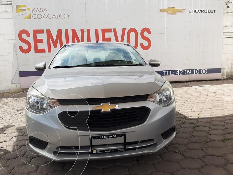 Foto Chevrolet Aveo LS Aa usado (2018) color Plata Dorado precio $165,000
