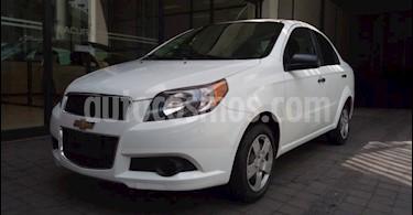 Chevrolet Aveo 4P LS TA A/AC CD R-14 usado (2016) color Blanco precio $121,000