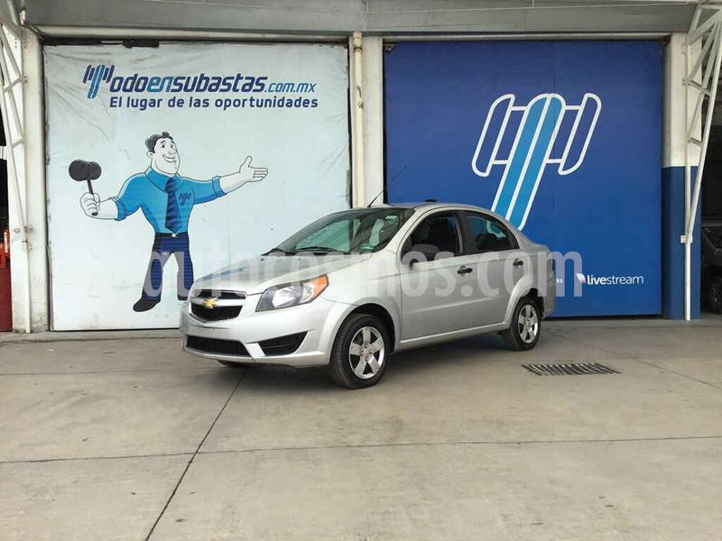Chevrolet Aveo LS (Nuevo) usado (2017) color Plata precio $25,000