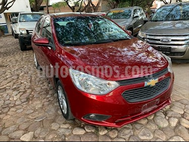 Chevrolet Aveo LT Aut usado (2019) color Rojo precio $190,000