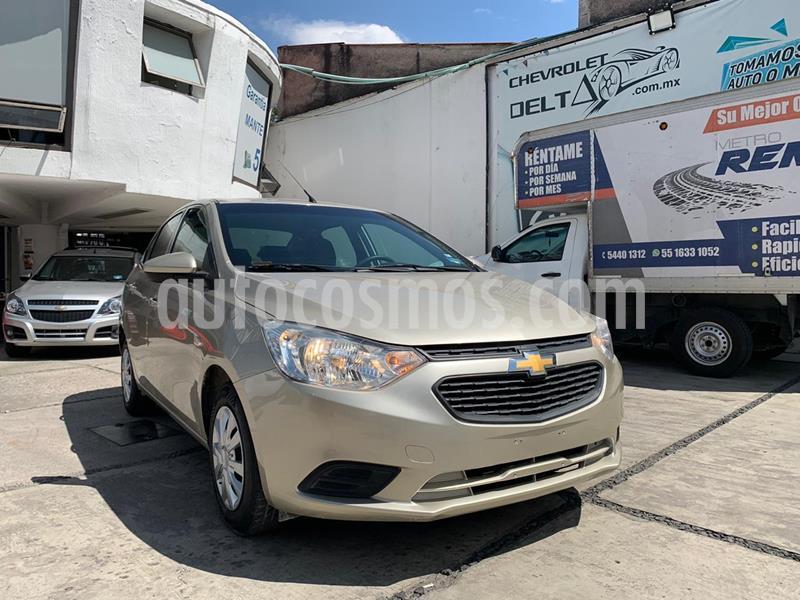 Chevrolet Aveo LT usado (2018) color Blanco precio $140,000