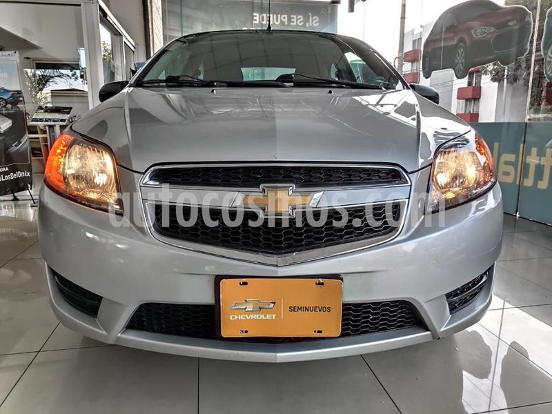 Chevrolet Aveo LT usado (2018) color Plata Dorado precio $153,000