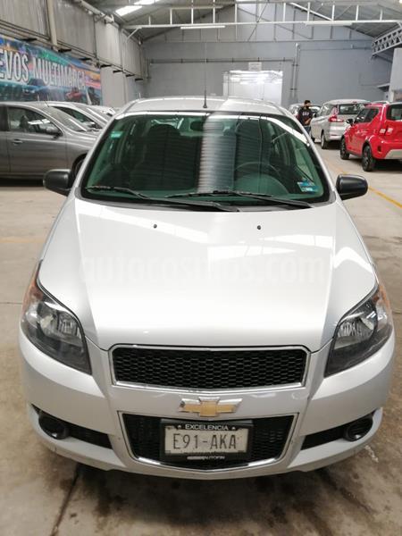 Chevrolet Aveo LT usado (2017) color Plata Brillante precio $133,000